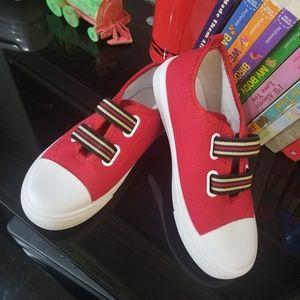 NWOB unisex red kids sneakers (B5)
